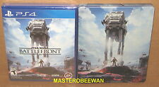 PS4 Star Wars Battlefront + Steelbook & DLC New Sealed Amazon Exclusive