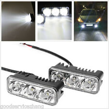 2x 9W 7000K Spot LED Fog Light Bar Offroad Motorcycle Driving Lights Fog Lamp
