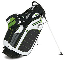 Callaway Golf Hyper-Lite 5 Stand Bag 2016 Black/White/Green New
