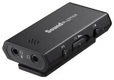 Creative Sound Blaster E1 SB1600 Portable Headphone Amplifier w/Mic Dual Jacks