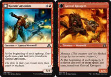 MTG 4x GATSTAF ARSONISTS - PIROMANI DI GATSTAF - SOI - MAGIC