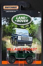 2016 Matchbox Land Rover SVX BRITISH RACING GREEN METALLIC/MOC