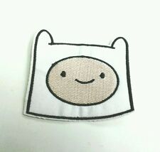 Adventure time finn the human embroidered iron on patch