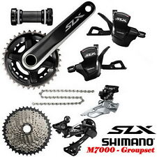2017 Shimano SLX M7000 Double 2x11 22-speed Group Groupset set 170mm