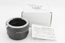 *MINT* Kindai(Rayqual) Mount Adapter NF-EFM Canon M to Nikon F from Japan #0490