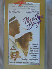 MR AND MRS BRIDGE VHS
