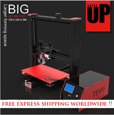 2016 Newest Tevo Black Widow 3D Printer DIY Kit Large Printing Area 370*250*300m