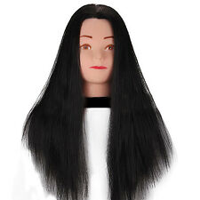 Practice Training Head Human Long Hair Model Hairdressing Mannequin Doll Newest