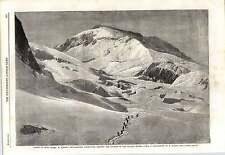 1862 ascendant mont blanc m bisson expedition