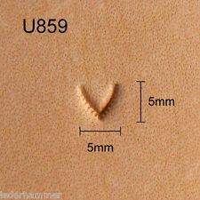 Punziereisen, Lederstempel, Punzierstempel, Leather Stamp, U859
