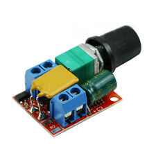 5A Mini DC Motor PWM Speed Controller DC 3V-35V Speed Control Switch LED Dimmer