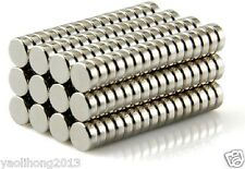 500pc 3  x 1.5 mm Disc Rare-Earth Neodymium Magnets Magnet 1/8 inch x 1/16 inch