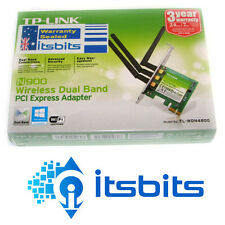 TP-LINK TL-WDN4800 WIRELESS N PCI-E DUAL BAND 5GHz & 2.4GHz NETWORK CARD 450MBPS