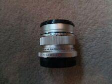 Olympus M. Zuiko Digital Lente 12mm F2-Plata ED