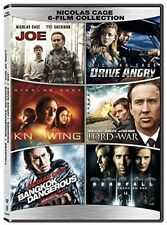 Nicolas Cage 6- Film Collection - 2 DISC SET (2017, REGION 1 DVD New)
