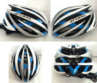 Giro bicycle Road Cycling MTB Bike Helmet size M (54-59cm) Blue/white/silver box