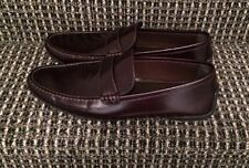 Louis Vuitton LV Slip On Brown Leather Shoes 9.5