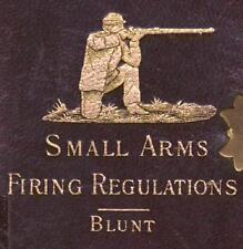 SMALL ARMS FIRING REGULATION 1889