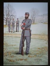 POSTCARD THE INNS OF COURT REGIMENT - PRIVATE 23RD MIDDLESEX RIFILE VOLUNTEERS 1
