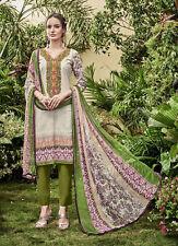 Printed Cambric Cotton Salwar Kameez with Embroidery Work Salwar Kameez Material
