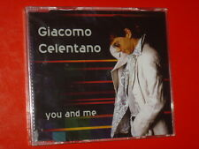 GIACOMO CELENTANO YOU AND ME CD SINGLE 6 TRK NEW SEALED 2002 MADE IN AUSTRIA