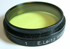 Leica Leitz FIGRO A36 36mm Slip-on Yellow 1 Lens Filter Clamp-On