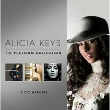 "ALICIA KEYS ""THE PLATINUM COLLECTION"" 3 CD DIGIPACK NEU"
