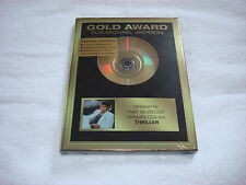 Michael Jackson Thriller German CD Album Gold Award Series Sealed Mega Rare