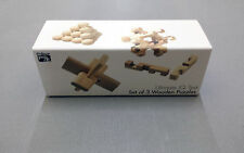 The Ultimate IQ Range Wood Puzzle (Set of 3)