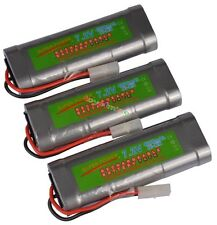 Pack x3 ♣ 7.2V 4600mAh Accu Battery Rechargeable TAMIYA RC ♣ SUPER POWER ♣