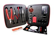 New!Authentic Coil Master DIY V2 KIT TOOL SET Coil Jig ohm Meter Ceramic Tweezer