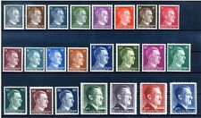 "Germany Third Reich Full Set  23 values ""Hitler Head"" Mi 781/802 MNH Luxe"