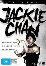 Jackie Chan Trilogy (Armour of God / The Young Master / Police Story) DVD