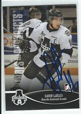 Xavier Ouellet Signed 2012/13 Heroes and Prospects Card #91