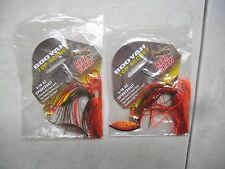 2 BOOYAH TOP SECRET EXCLUSIVE SPINNERBAITS 3/16 BASS FISHING NEST ROBBER NEW