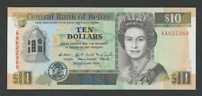 BELIZE - $10  1990  QEII  P54a  Uncirculated  ( Banknotes )