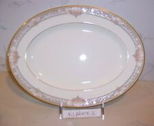 NEW Noritake BARRYMORE Completer: PLATTER, Sugar & Creamer, Oval Vegetable Bowl
