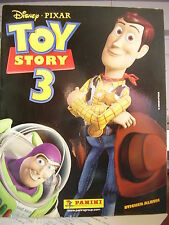 RARE PANINI STICKER ALBUM BOOK DISNEY PIXAR TOY STORY 3 WOODY UNUSED & POSTER