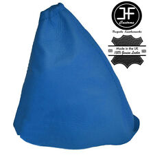 BLUE LEATHER GEAR STICK GAITER COVER FITS PEUGEOT 508 2010-2015 MANUAL NEW