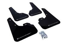 Rally Armor MF17-UR BLACK Mud Flaps w/ SILVER Logo for Mazdaspeed3 & Mazda3 2010