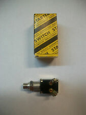 1-SUNTEX FS-ST02 MOMENTARY CHROME 2-PRONG PUSH BUTTON STARTER SWITCH  NEW IN BOX