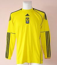2010 - 2011 SCOTLAND, GOALKEEPER SHIRT BY ADIDAS, MENS MEDIUM, LONG SLEEVE