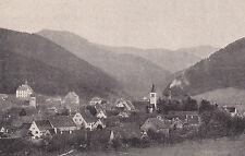 Sulzburg - Markgräflerland - Schwarzwald - Ortsansicht um 1920 - RAR