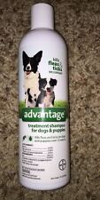 Advantage Treatment Shampoo For ALL Dogs AGES  12oz KILL FLEAS