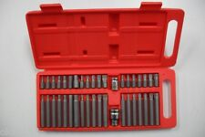 Coffret de 40 Embouts XZN HEX TORX 12 Pans & 6 Pans Chrome Vanadium