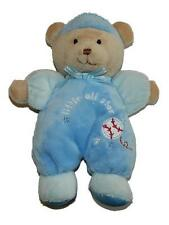 Just One Year Little All Star Plush Teddy Bear Lovey Rattle Baby