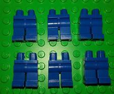 *NEW* Lego Bulk Blue Jeans Legs Pants Minifgures Figs People Men Spares 6 pieces