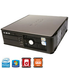 DELL Optiplex 780 SFF Dual Core E5400 2,7Ghz - 160Go - 4Go - DVD-RW  - 7 Pro