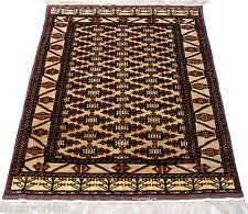 186 x 120 cm super-feine Qualität Seiden Afghan orientteppich Silk Carpet 86-A