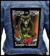 FLOTSAM AND JETSAM - Doomsday for the Deceiver  --- Giant Backpatch Back Patch